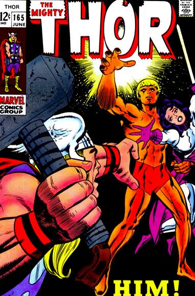 Thor 165 Adam Warlock first appearance