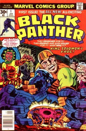 undervalued bronze age number ones - black panther 1