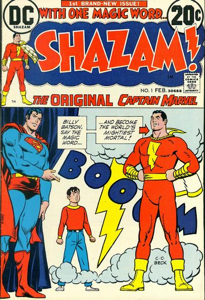 undervalued bronze age number ones - shazam 1
