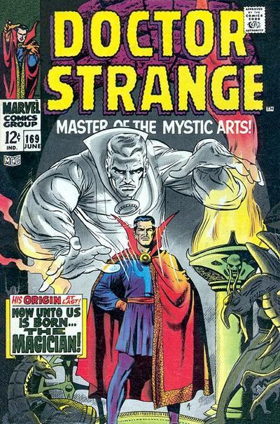 undervalued silver age comics - doctor strange 169