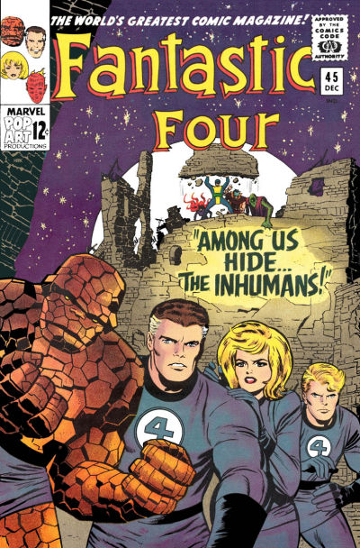 undervalued silver age comics - fantastic four 45