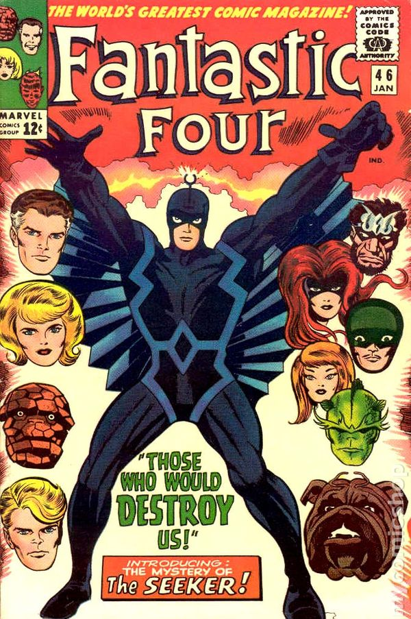 undervalued silver age comics - fantastic four 46