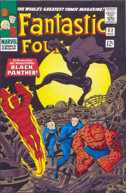 undervalued silver age comics - fantastic four 52