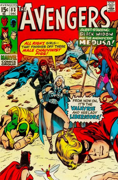 Avengers 83 Valkeyrie