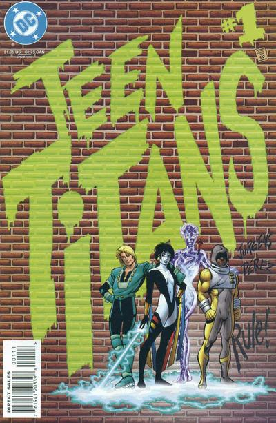 teen titans vol 2 issue 1