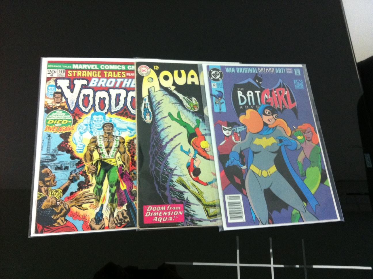 Batman Adventures 12 Aquaman 11 Strange Tales 169
