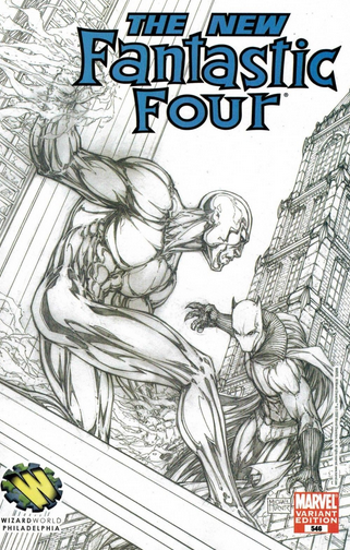 Fantastic Four 546 sketch