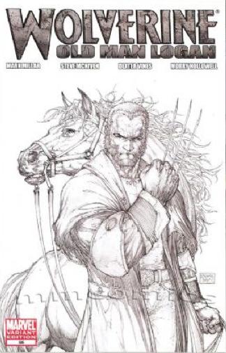 Wolverine 66 sketch