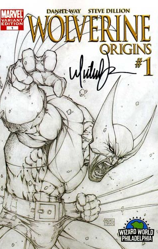 Wolverine Origins 1 Sketch