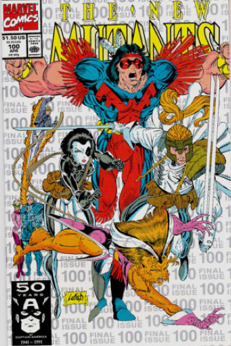 New mutants 100 3rd print