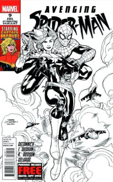 avenging spider man 2nd print