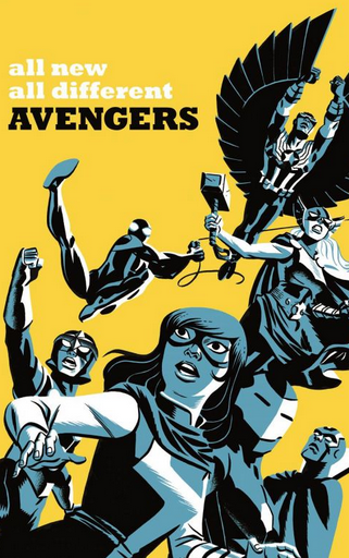 All New All Different Avengers 5 Michael Cho variant