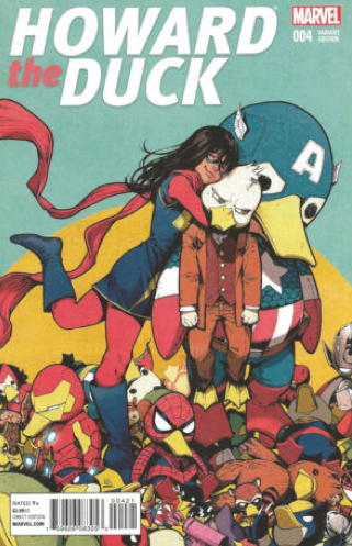 HOWARD THE DUCK #2 1:10 INCENTIVE VARIANT COVER