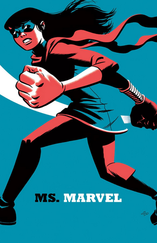 Ms Marvel 4 Michael Cho variant