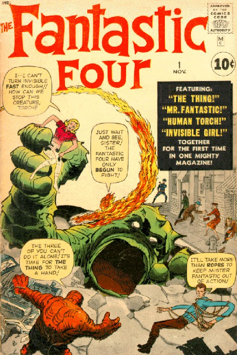 silver age key issues fantastic four 1