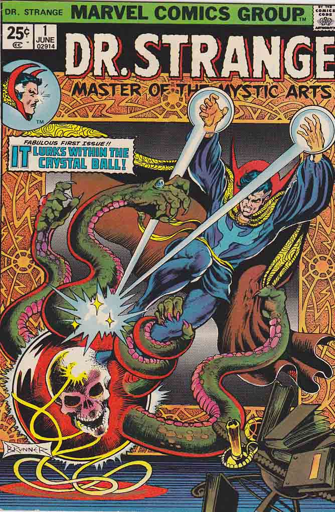 undervalued bronze age number ones - doctor strange 1