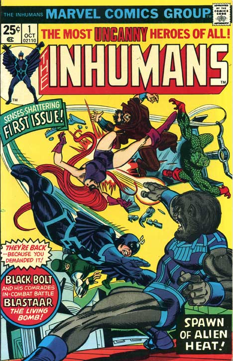 undervalued bronze age number ones - inhumans 1