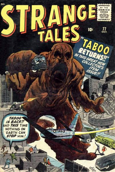master khan first appearance strange tales 77
