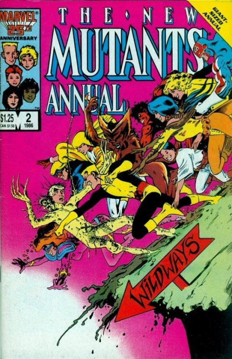 x force movie - new mutants annual 2