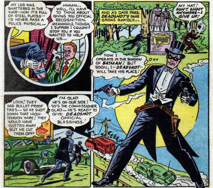deadshot first appearance
