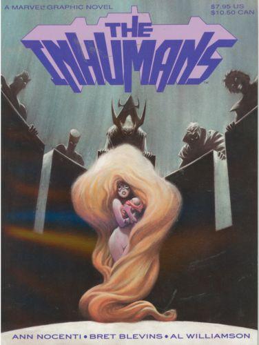 Marvel Graphic Novel The Inhumans