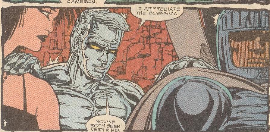 Death in Captain Atom 42
