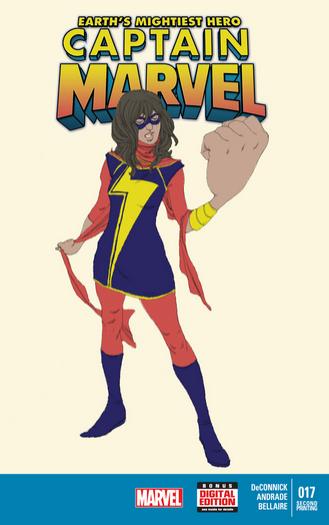captain marvel 17 2nd print