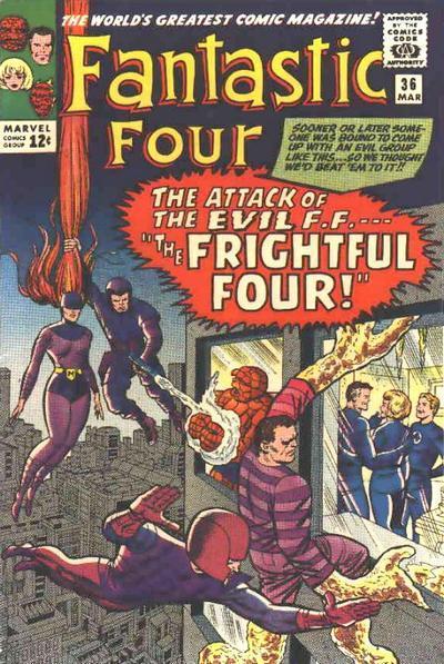fantastic four 36 Medusa first appearance