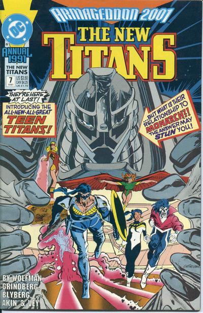New Titans Annual 7