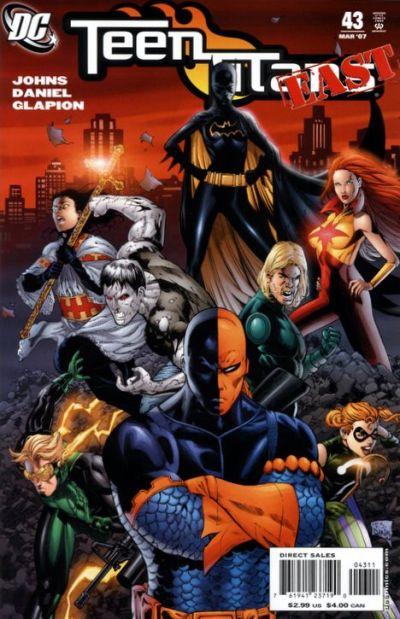 teen titans vol 3 issue 43