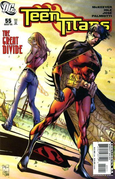 teen titans vol 3 issue 55