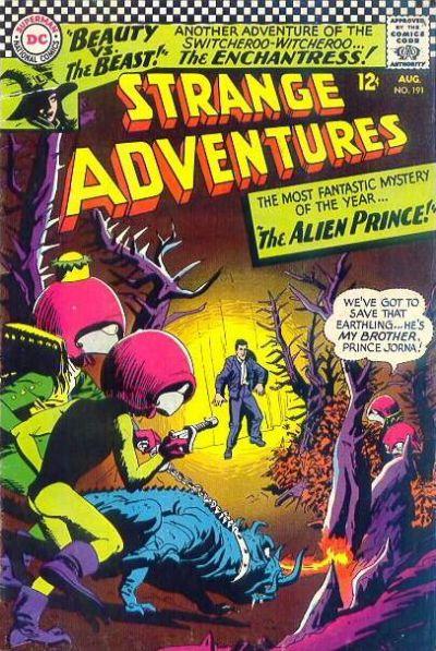 strange adventures 191 2nd appearance of Enchantress