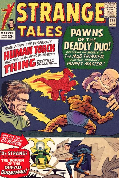 strange tales 126 first appearance of Clea