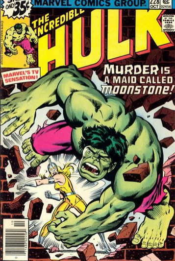 hulk 228 first appearance of moonstone