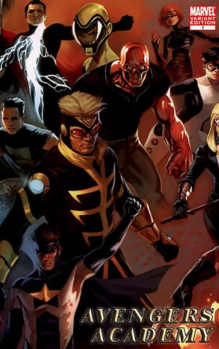 Avengers Academy 1 25 variant