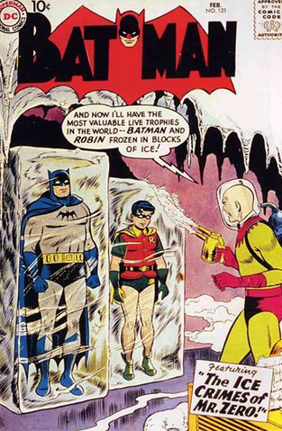 batman 121 first appearance of mr freeze