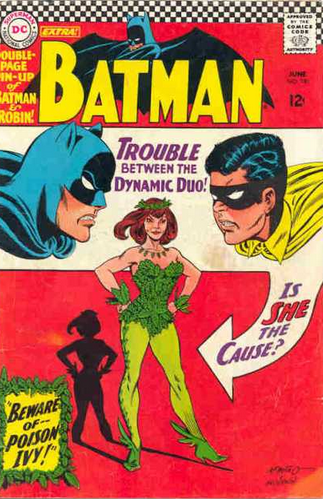 batman 181 first appearance of poison ivy