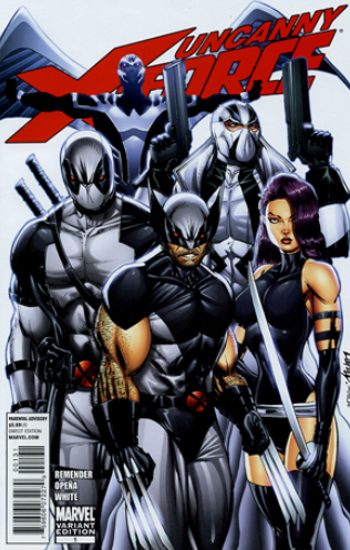 uncanny x force 1 liefeld variant