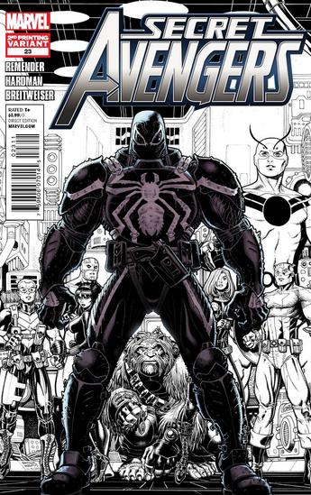 secret avengers 23 2nd print