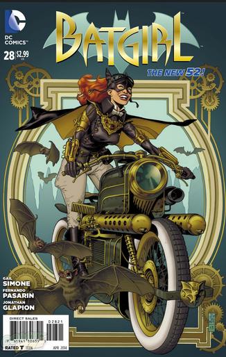 Batgirl 28 steampunk variant