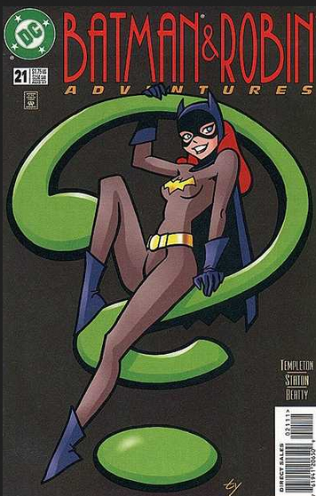 Batman robin adventures 21