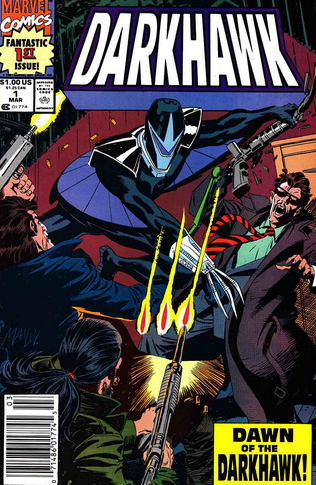 Darkhawk 1 newsstand