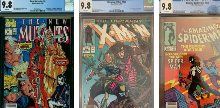 Update on June's Most Valuable 9.8 Newsstand Comics From Copper Age